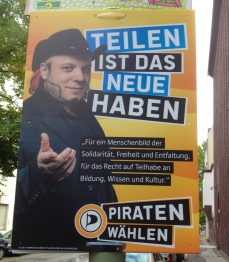 Pirate Party: Vote for amazing side burns?