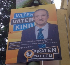 Pirate Party: Father Father Child (Supports same-sex partners adopting)