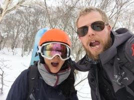 Gu's first backcountry hike
